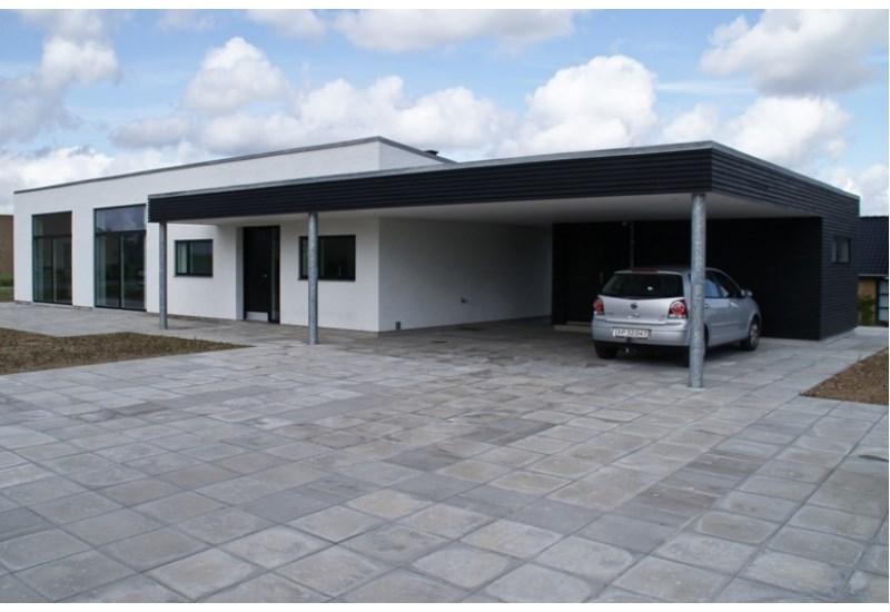 Typehus på 154 m2 med carport